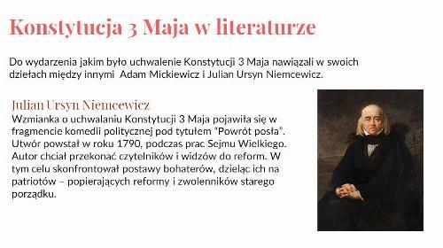 Obrazek galerii Konstytucja 3-go Maja