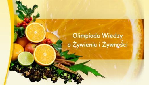 Obrazek newsa Olimpiada Wiedzy o Żywieniu i Żywności