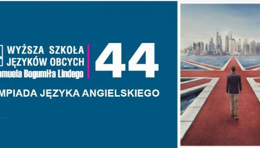 Obrazek newsa 44 OlimpiadA Języka Angielskiego