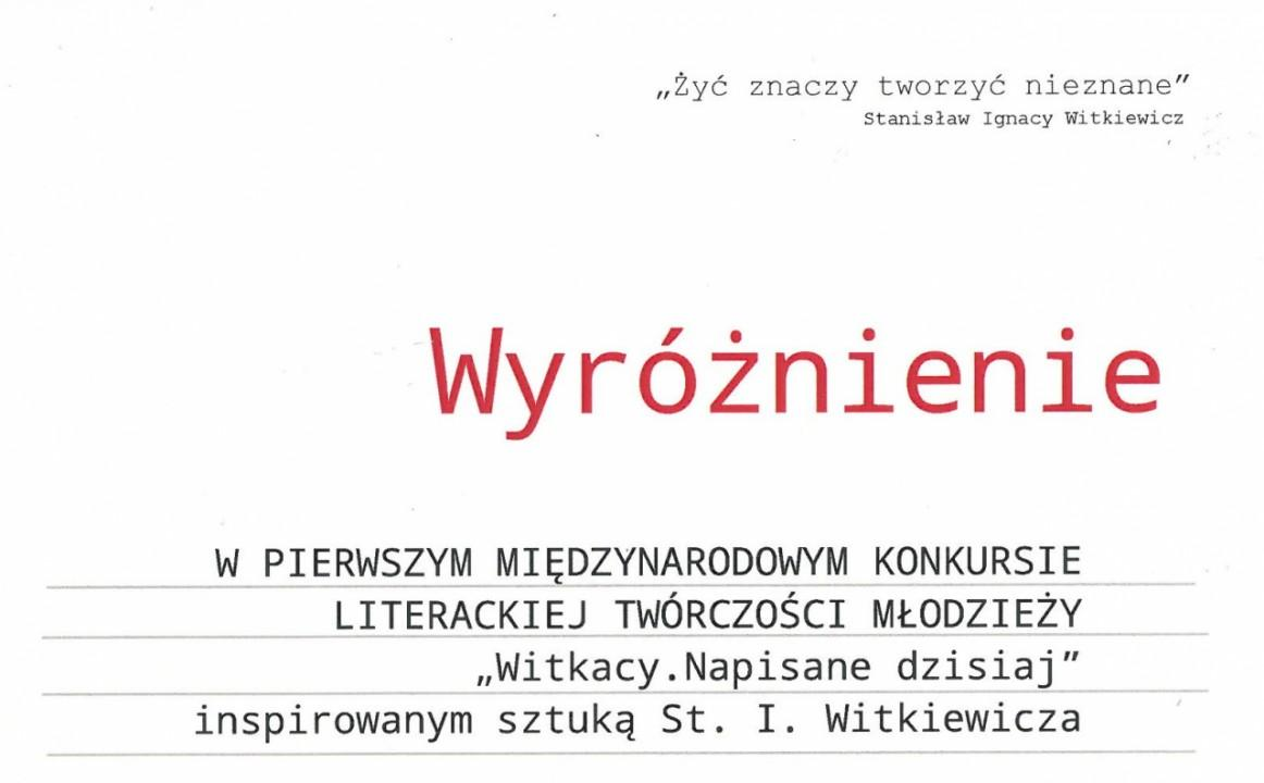 Obrazek newsa Międzynarodowy Konkurs Literacki