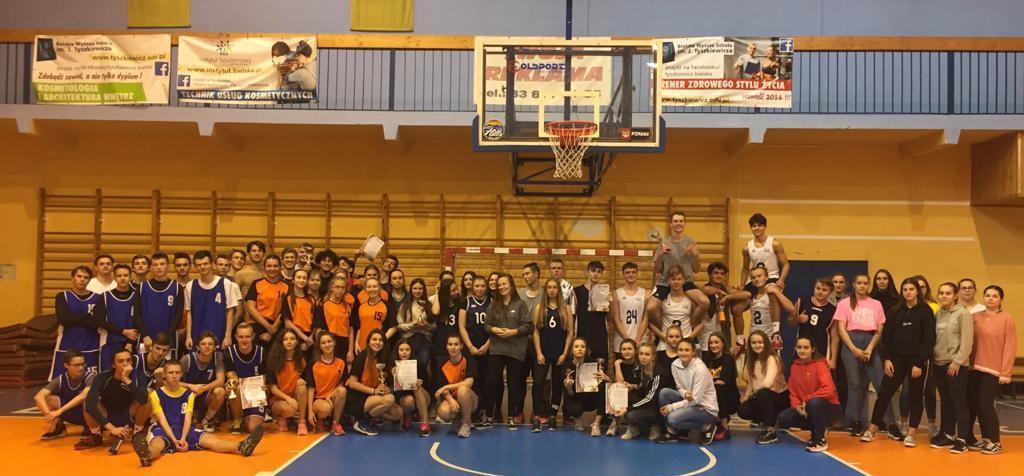 Obrazek newsa Turniej Piłki Koszykowej dziewcząt i chłopców